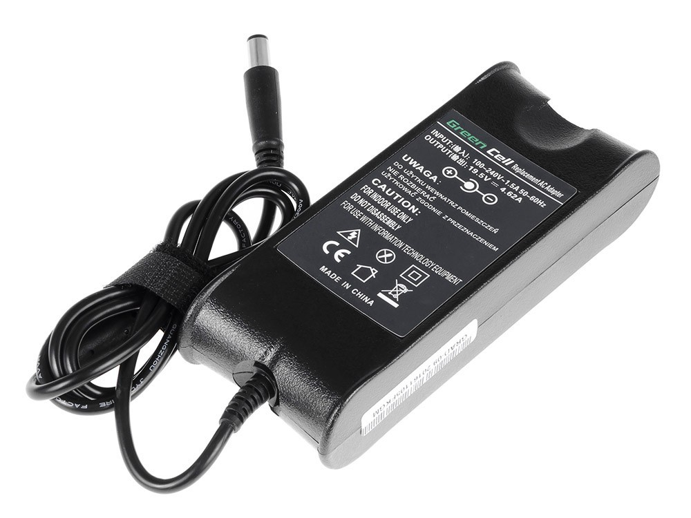 Genuine DELL Latitude D420 D430 PP09S 19.5V 4.62A 90W Charger Power Cord Adapter