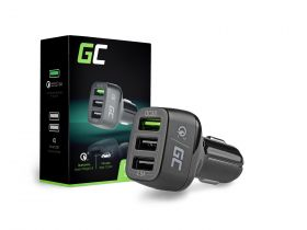 In-Car Charger with 3xUSB 3.0 and Quick Charge \ Phone chargers In-car chargers