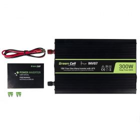 Voltage Automotive Inverter UPS for furnances and central heating pumps 300W \ Pure sine wave Line Interactive