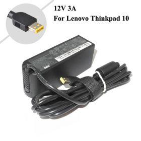 Charge adapter Lenovo 12V 3A 36W USB SquareYellow pin 2 hole \ Original Lenovo